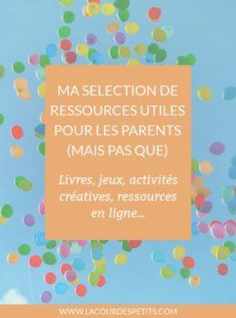 Des idées de livres, de jouets et de matériel créatifs à avoir pour occuper les enfants, mais aussi des ressources pour les parents et autres adultes.