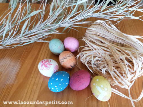 Matériel oeufs de Pâques
