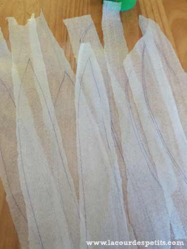 Tracer feuilles deco fenetres