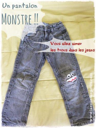 premium selection great fit half off Astuce pour jean troué |La cour des petits