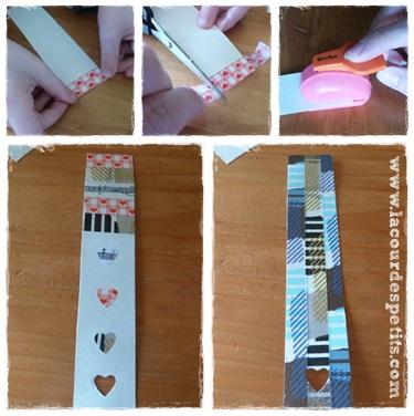 bricolage pour la f te des m res avec du washi tape la. Black Bedroom Furniture Sets. Home Design Ideas