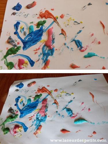 Peinture gonflante avant après