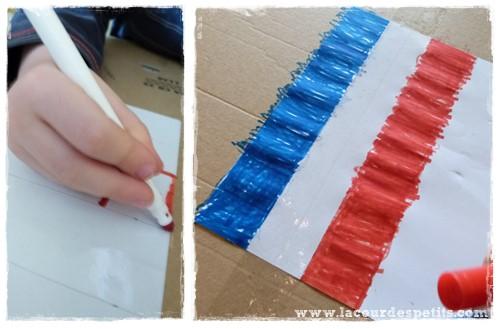 Bricolage foot coloriage