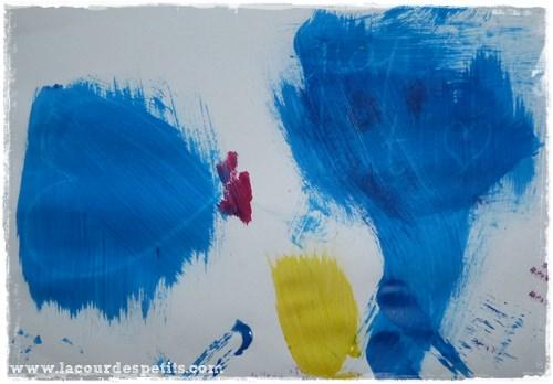 Peinture magique au pinceau