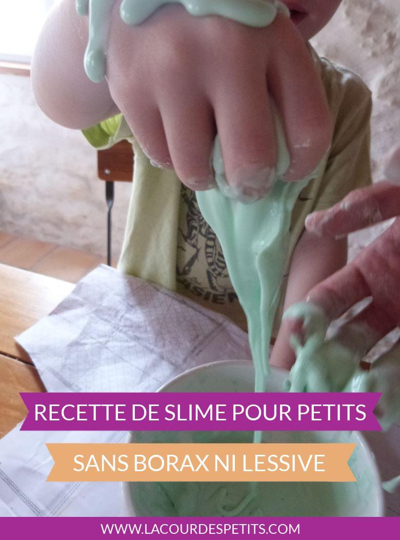 Une recette de slime pour les petits : pas de borax, de solutions à lentilles, de colle ou de lessive. Un slime comestible pour les plus jeunes.