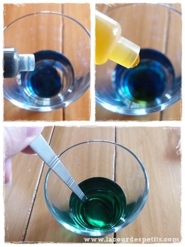 Recette slime eau