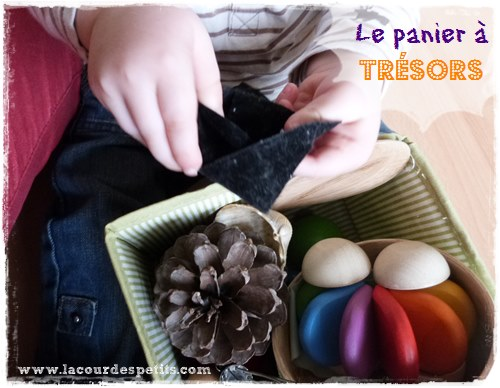 Panier à trésors Montessori