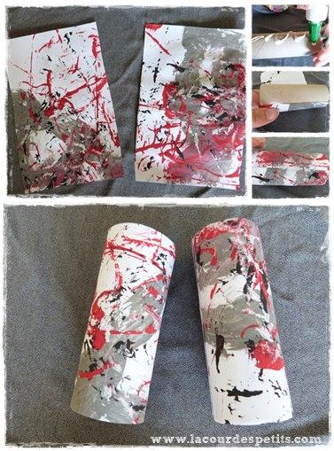 Bricolage en rouleau de papier toilette 4 les jumelles - Idee avec rouleau papier toilette ...