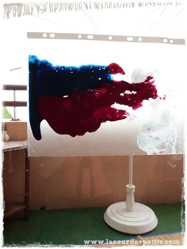 Peinture propre en sac fenêtre