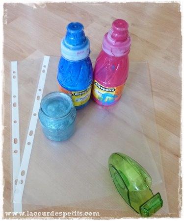 Peinture propre en sac matériel