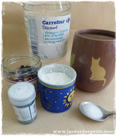 Recette glitter glue ingredients