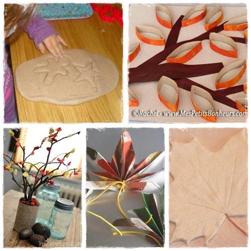 34 Bricolages Dautomne à Faire Avec Les Enfants La Cour Des Petits