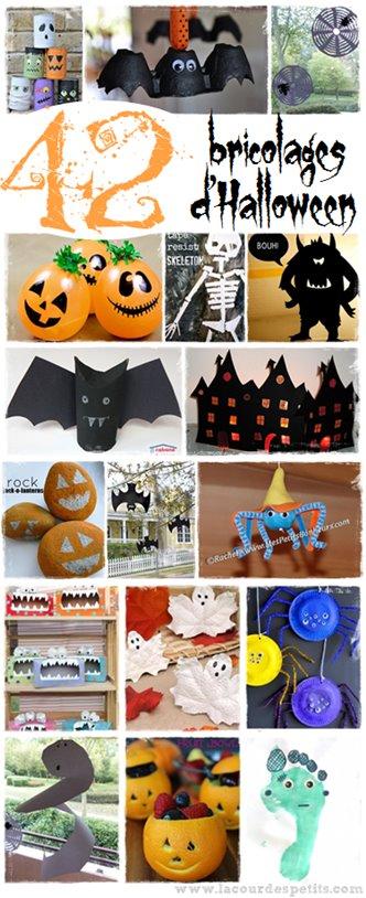 Bricolage Halloween enfant facile
