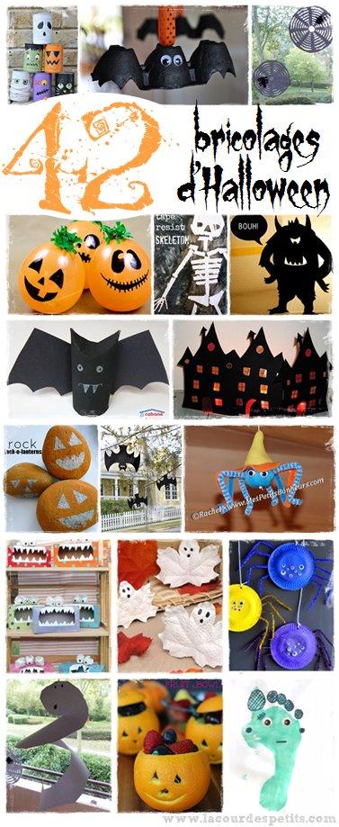 42 Bricolages D 39 Halloween De Derni Re Minute La Cour Des Petits