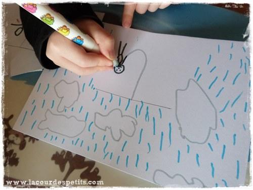 Bricolage pluie