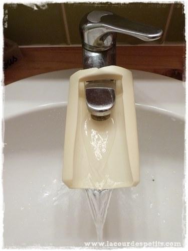 Extension robinet enfant lavabo