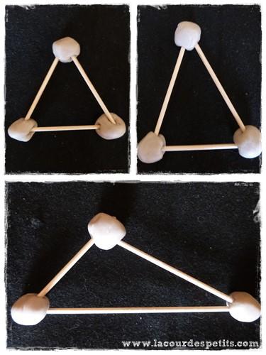 Formes geometriques maternelle pate a modeler 3 cotes