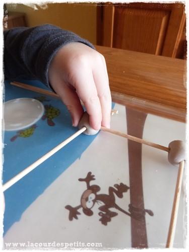 Formes geometriques maternelle pate a modeler construction