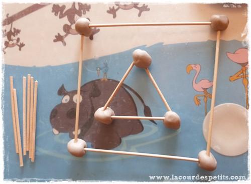 Formes geometriques maternelle pate a modeler libre
