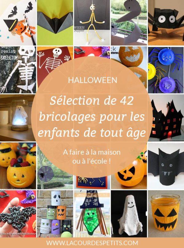 42 bricolages d'halloween pour les enfants