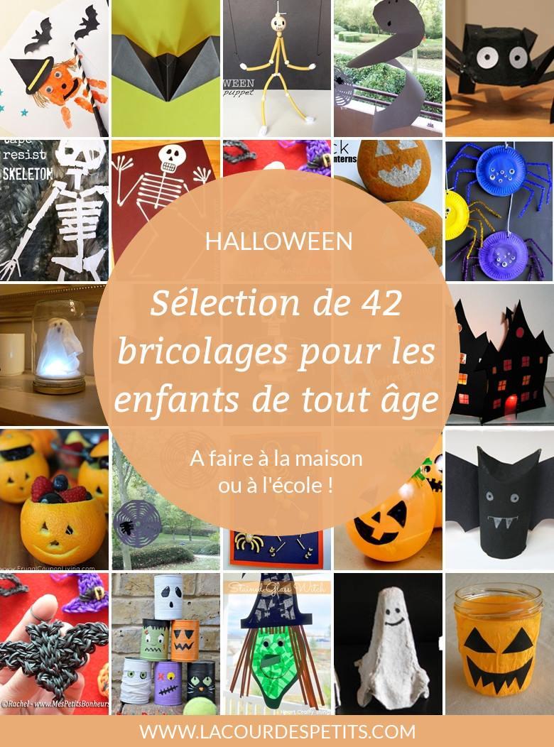42 Bricolages D Halloween De Derniere Minute La Cour Des Petits