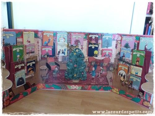 Balthazar prepare Noel calendrier avent 2