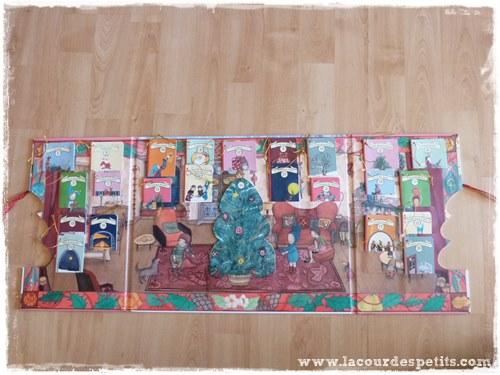 Balthazar prepare Noel calendrier avent