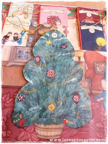 Balthazar prepare Noel sapin