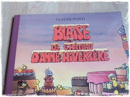 Blaise et le chateau d'Anne Hiversere titre