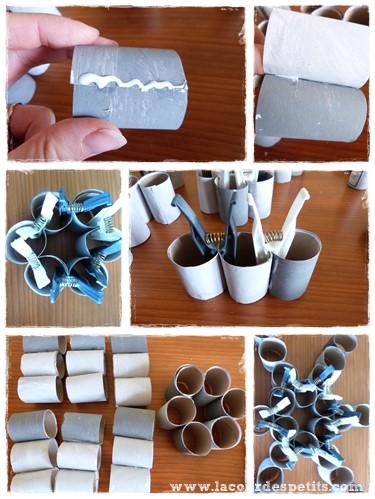 Bricolage en rouleaux de papier toilette 5 un - Calendrier avent papier toilette ...