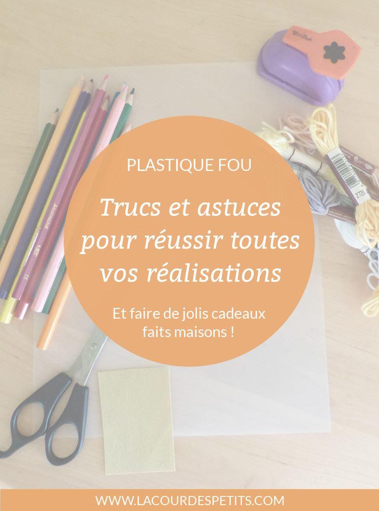 Fabriquer Porte Clé Facile le plastique fou : cuisson, test et astuce ! |la cour des petits