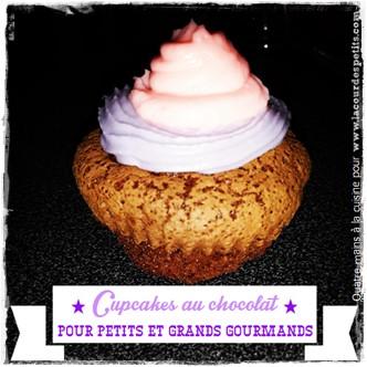 Recette cupcake chocolat enfant Une
