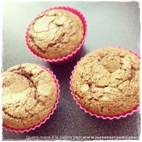 Recette cupcake chocolat enfant cuit