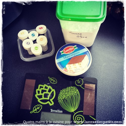 Recette cupcake chocolat enfant ingredients 2