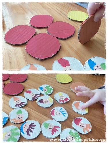 Bricolage elfes lutins couleur