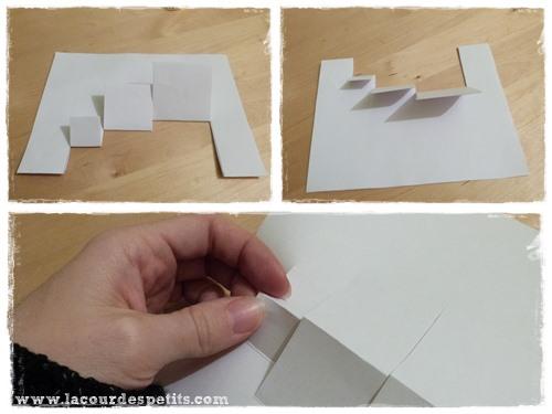 une carte d 39 anniversaire faite maison version pop up la. Black Bedroom Furniture Sets. Home Design Ideas
