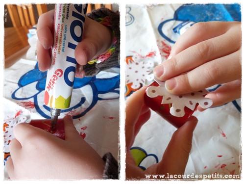 Rond serviette fabrique enfant