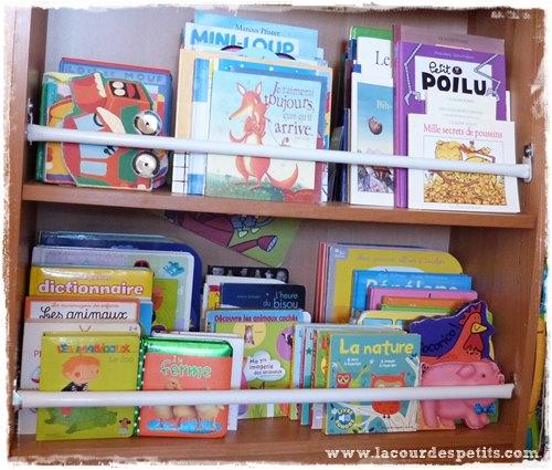 Diy un coin enfant dans la biblioth que la cour des petits - Comment fabriquer une bibliotheque ...