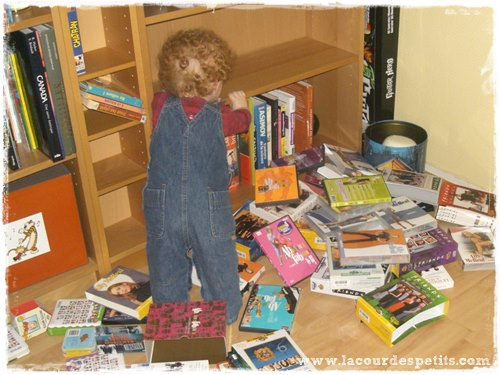 Bibliotheque enfant menage