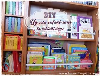 DIY bibliotheque enfant