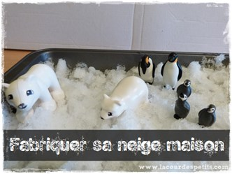 fabriquer neige maison