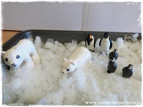 jeux neige enfant