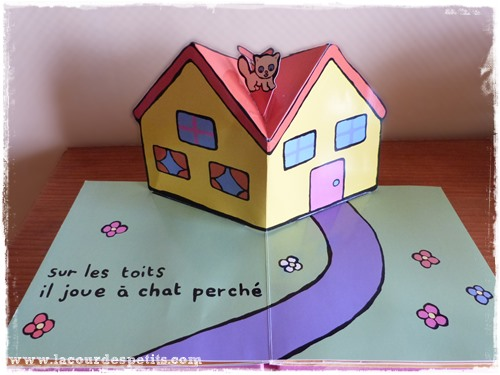 le chat kimiko livre pop up