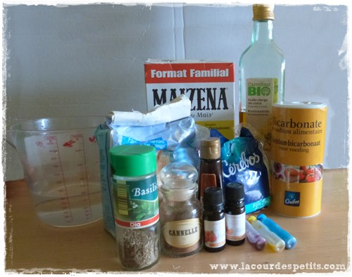 Pate a modeler maison ingredients