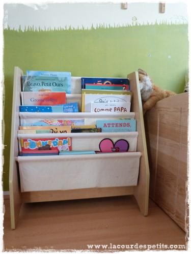 une vraie biblioth que pour enfant test la cour des petits. Black Bedroom Furniture Sets. Home Design Ideas