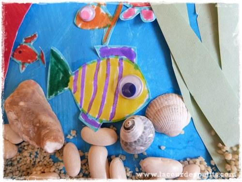 bricolage poisson 4 ans