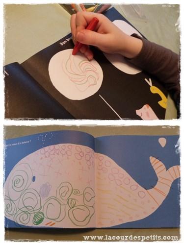 cahier coloriage motifs