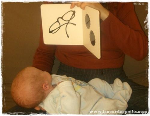 Tana Hoban Noir sur Blanc bebe