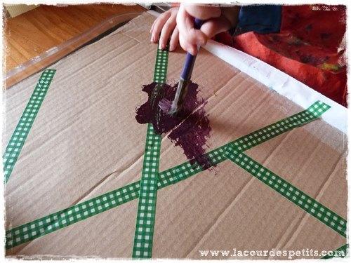 bricolage carton enfant