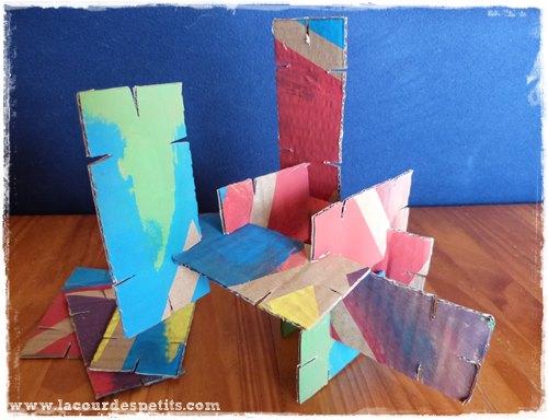 DIY jouet carton